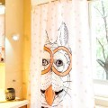 Shower Curtain Polyester Cute Dog