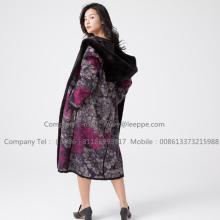 Factory Outlets for Black Mink Fur Coat Kopenhagen Mink Fur Reversible Overcoat export to Netherlands Manufacturer