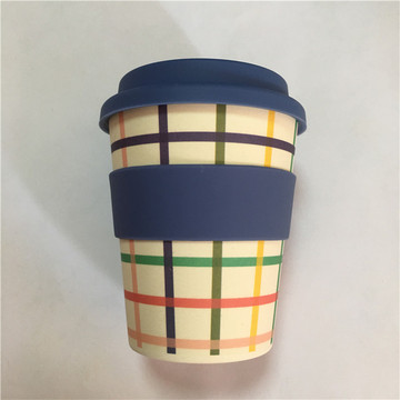 Eco Friendly Bamboo Fibre Travelling Coffee Mugs
