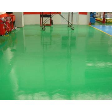 Dustproof epoxy floor coating medicine
