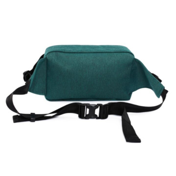 Adjustable Belt Custom Color Cationic Dyed Polyester  Fanny Pack Travel Waist Bag
