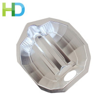 Parabolic shape safety lamp reflector