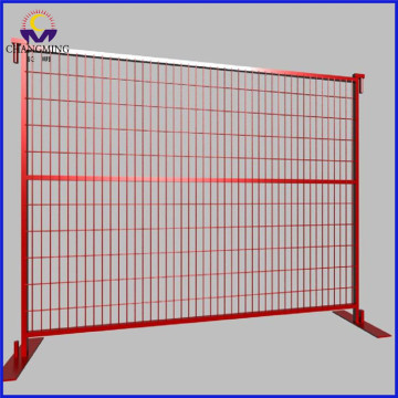 Used outdoor removable fence hot dipped galvanized temporary fencing