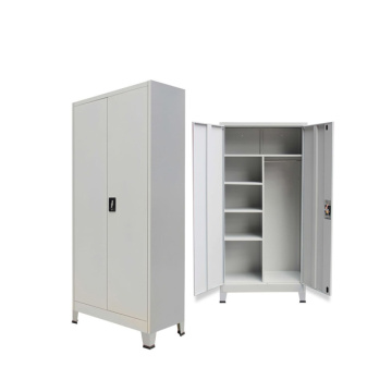 Closet Metal Wardrobe With Feet