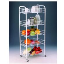 Top for Storage Cart 5 Tier Multifunctional Compound Cart supply to France Manufacturer
