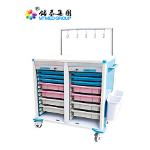 Medical infusion cart trolley