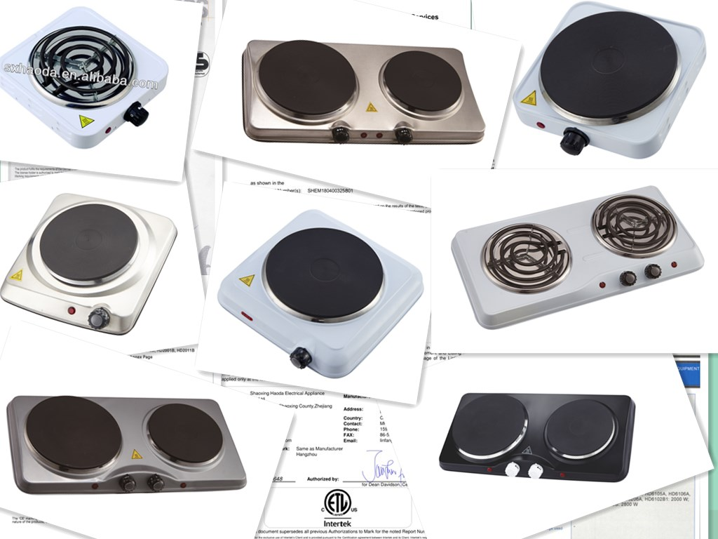 Double Burner Hotplate