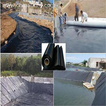 100% virginHDPE Geomembrane for bamboo roots barrier