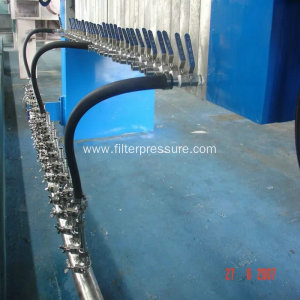 Dryer Filter Cake Membrane Filter Press Paper Wastewater