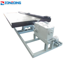 Mining Ore Gravity Copper Separation Shaker Shaking Table