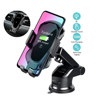 Wireless Car Charger Auto Clamping Car Charger Mount