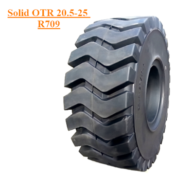 Промышленный OTR Solid Tire 20.5-25 R709