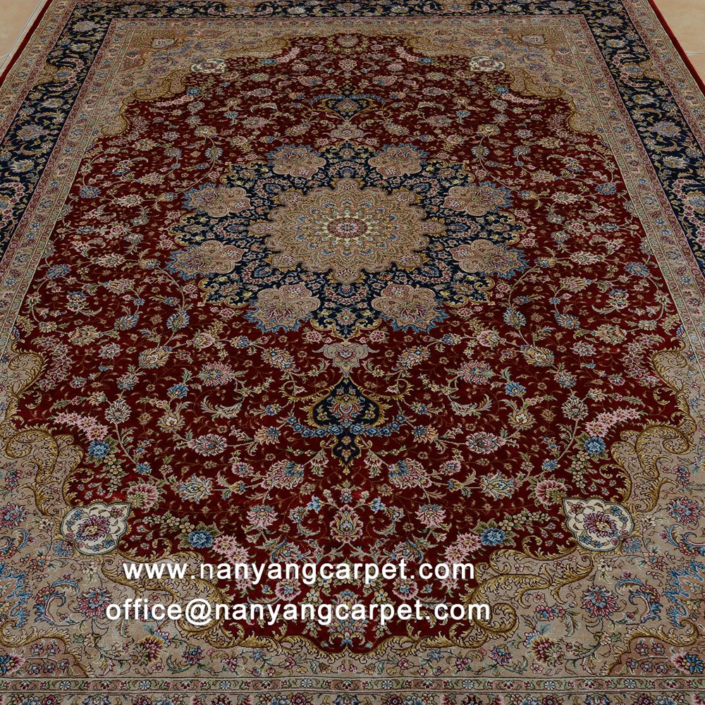 Red Indian carpet