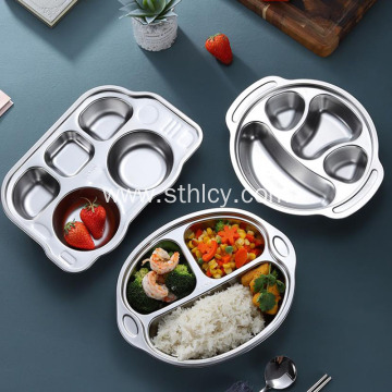 Food Grade Children's Stainless Steel Plates