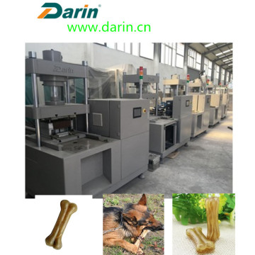 Natural bone Pressed Rawhide Bones making machine