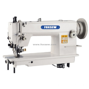 Top and Bottom Feed Heavy Duty Lockstitch Sewing Machine with Cutter