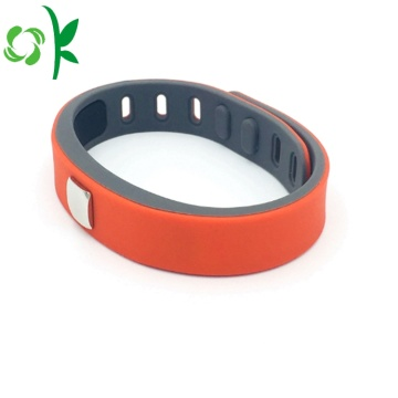 Top-grade Layer Sports Bangles Adjusted Silicone Bracelet
