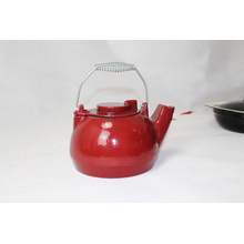 Cast Iron Kettle With Enamel