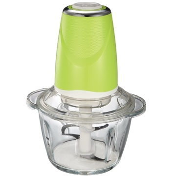 1.2L glass hand carrot onion food chopper machine