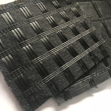 Fiberglass Geogrid Composite with Polyester Fiber Geotextile