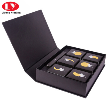 Black Cookie Packaging Box