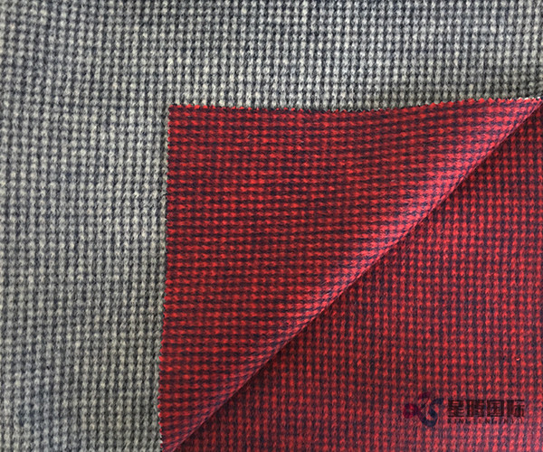 Both Sides Of 100% Wool Fabric Swallow Gird
