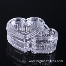 Hear Shape Glass Jewel Box Ideal Christmas Gift
