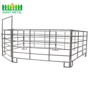 Factory Cheap Used Galvanized Cattle Fence Panels