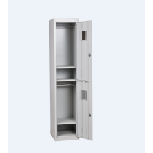 Two door steel locker for worker