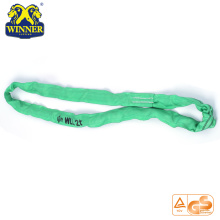 PriceList for for Synthetic Web Slings 2 Ton Nylon Polyester Lift Round Sling Webbing Sling export to Cote D'Ivoire Importers
