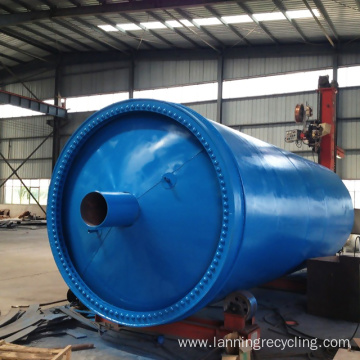 Lanning Waste Recycling Rubber Machine
