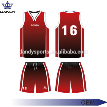 Custom Ombre Sublimated Basketball Kit