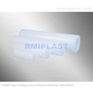 PVDF Pipe DIN PN16 China Manufacturer