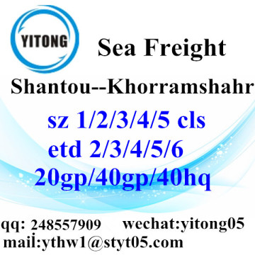 Shantou Logistics Services to Khorramshahr