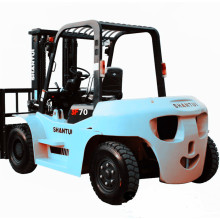 Best quality and factory for 7 Ton Diesel Forklift,7 Ton Forklift,7 Ton Forklift Trucks,Container Forklift Truck Manufacturer in China 7 ton forklift with postioner and side shifter export to India Supplier