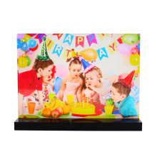 custom acrylic magnetic photo frames sign holder