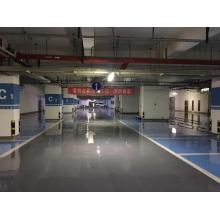 Dark gray waterborne epoxy floor paint