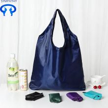 Purchasing for Shopping Tote Bag Solid color with large capacity folding shopping bag export to Indonesia Manufacturer