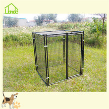 More durable big black pet dog kennel