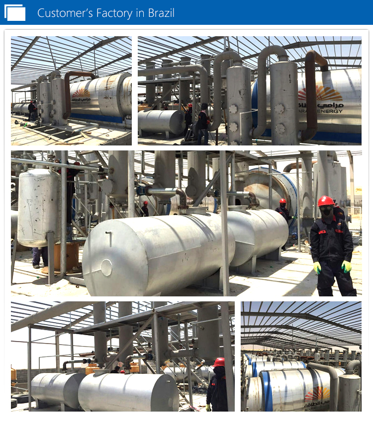 Rubber Oil Refining Plant