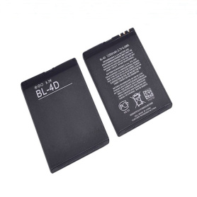 3.7v 1200mah battery for nokia bl-4d smartphone battery