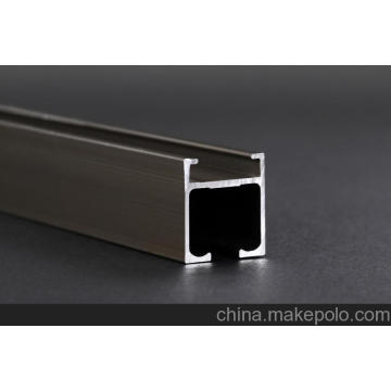 electrophoretic surface curtain track aluminum profile