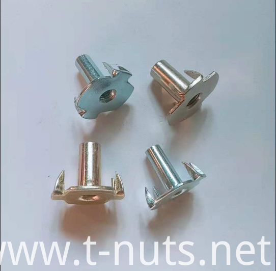 Large flange Color zinc Hopper Feed T-Nuts