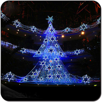 Cemmercial outdoor LED Christmas Tree