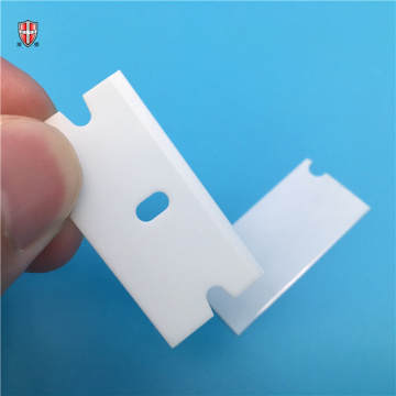 scraping primarily sharp edge zirconia ceramic glue blades