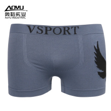 20 Years Factory for China Man'S Seamless Underwear,Seamless Men Underwear,Medium Seamless Underwear Manufacturer OEM Wholesale Custom Gray Mens Boxer Shorts supply to United States Manufacturer