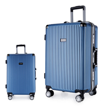 Hardside abs pc travel trolley luggage set