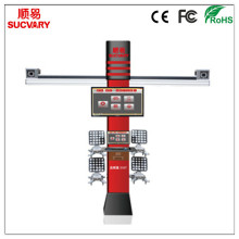 3D Wheel Alignment with CE