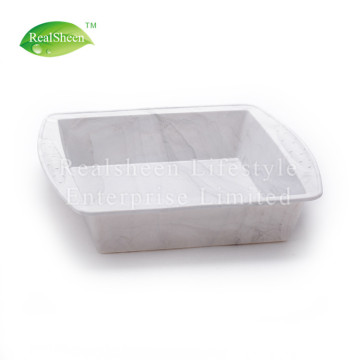 Square Marble Grain Silicone Cake Mould