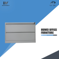 Metal lateral 2 drawer office filing cabinets
